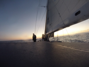 Sunset in Biscay