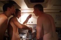 The naked chefs