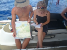 Planning the activities in Rio... we were determined to waste no time