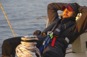 Jim, chilled sailor