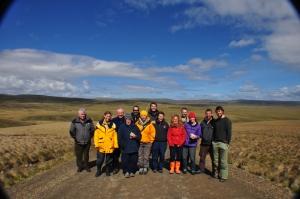 Falklands - the team on tour