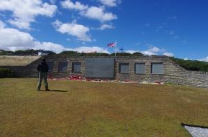 Falklands - British war cemetory