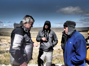 Falklands - Norman sharing his experiences